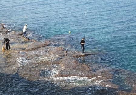 kak lovit s morskogo berega