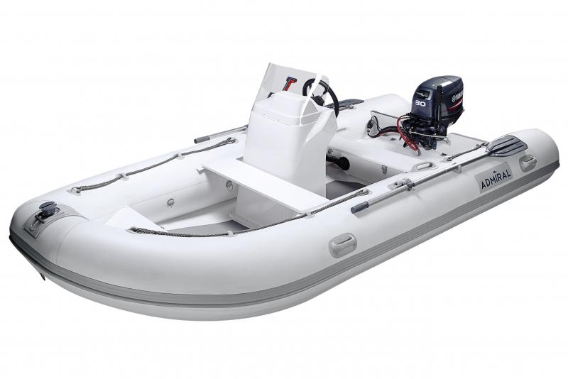 naduvnaya lodka admiral rib 410 s konsolyu 6 1
