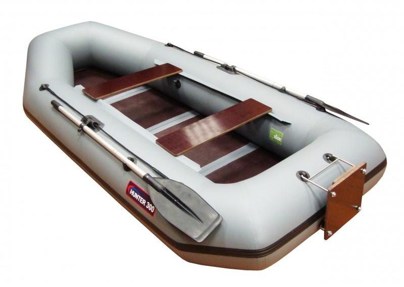 naduvnaya lodka hunterboat hanter 300 lt
