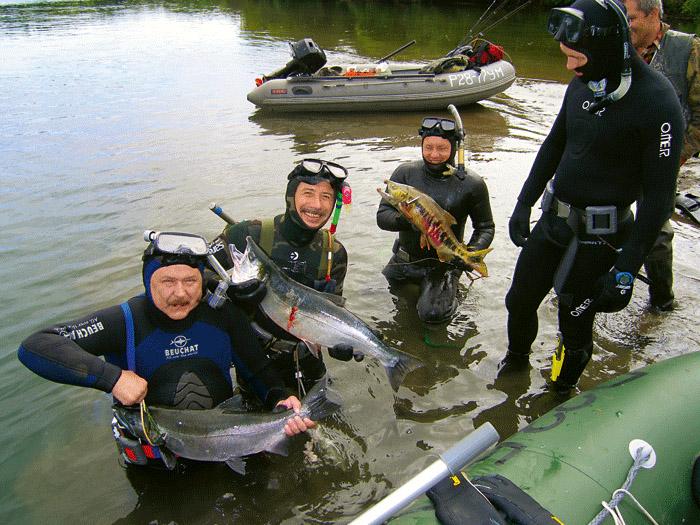 podvodnaya ohota na malyh rekah